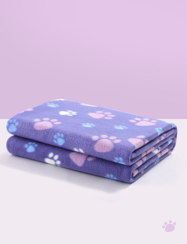 Polar Fleece Dog & Cat Blanket, Medium Purple