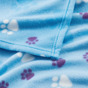 Polar Fleece Dog & Cat Blanket, Light Sky Blue