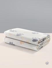 Polar Fleece Dog & Cat Blanket, Lightgray