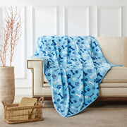 Allisandro Dog Blanket Soothing Sky Tones Designed Blue - ALLISANDROPET