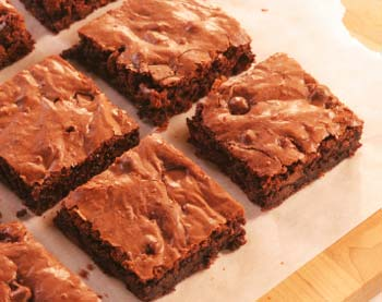 Rum & Peanut Brownies