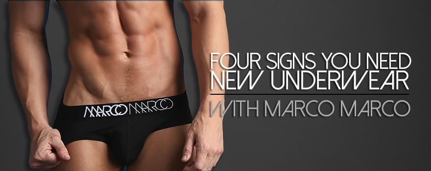Four Signs You Need New Underwear