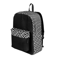 MM Logo Print Backpack - australia.marcomarco