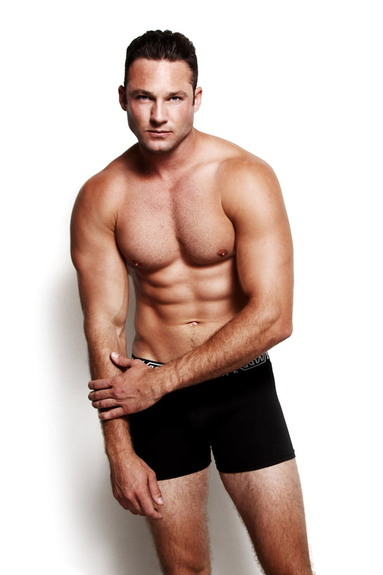 Core Boxer Brief Black - australia.marcomarco