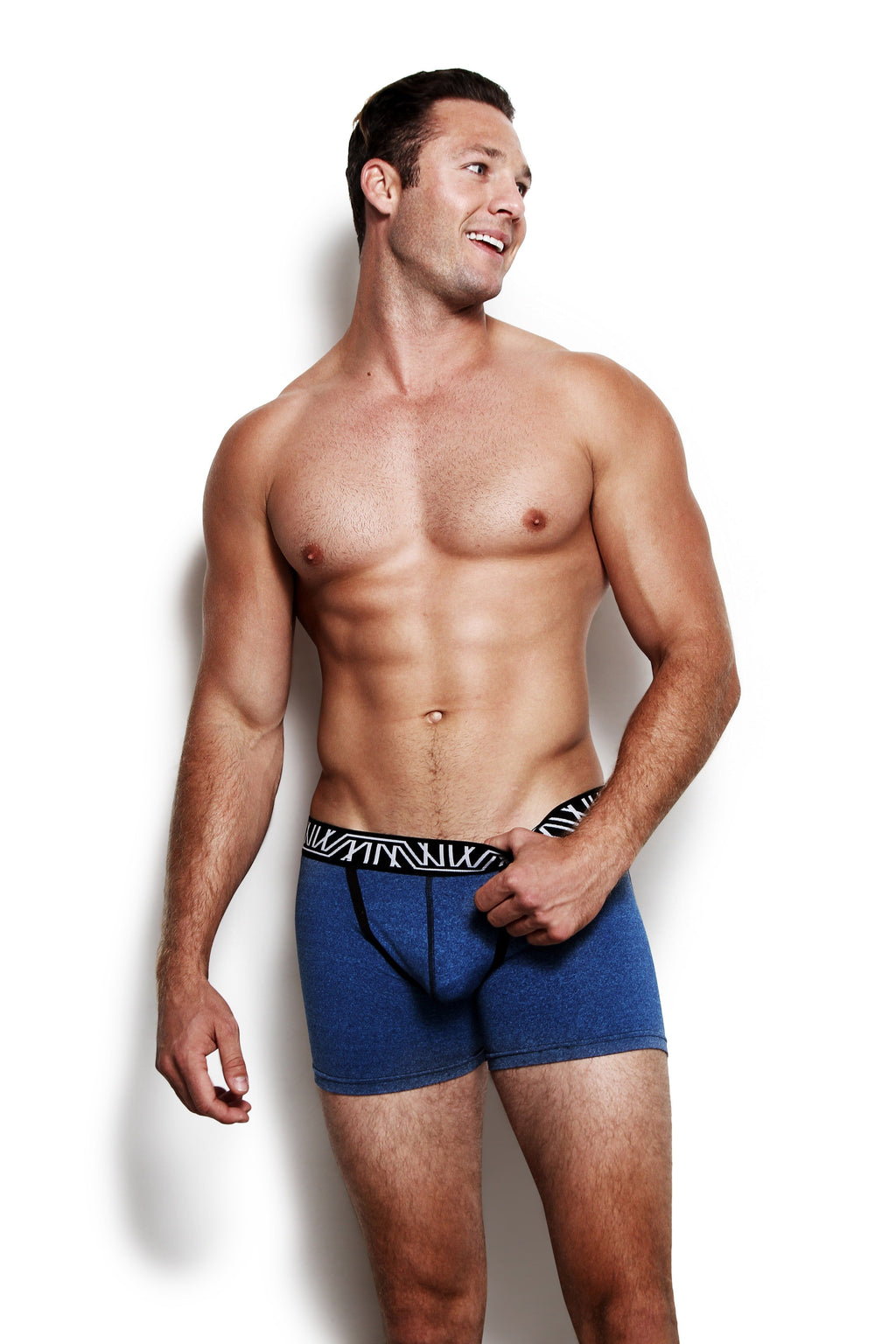 Designer Mens Underwear | Marco Marco | Core Boxer Brief Blue