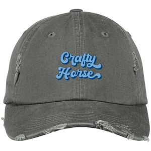 Crafty Retro Distressed Dad Cap