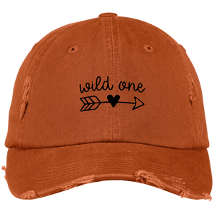 Wild One District Distressed Dad Cap