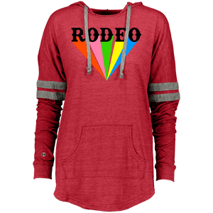 Rodeo Colorful Holloway Ladies Hooded Low Key Pullover