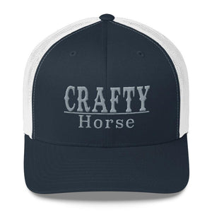 Crafty Horse Line Trucker Cap