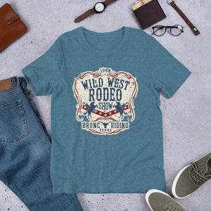 Wild West Rodeo Unisex T-Shirt