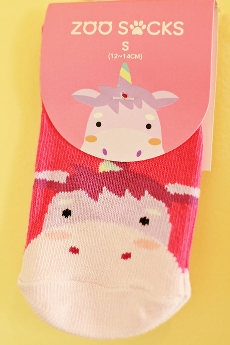 UNICORN ZOO SOCKS