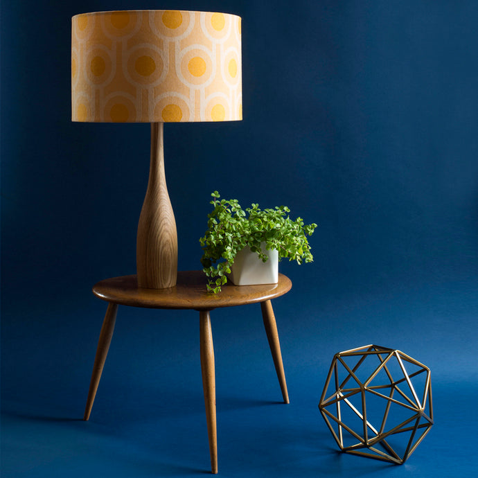 How to make a fabric rolled edge lampshade