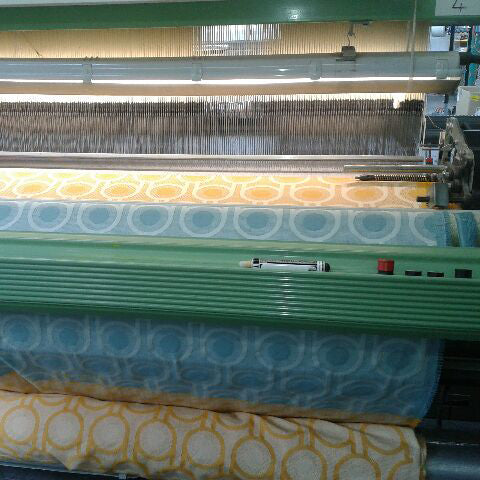 How is your woven fabric made