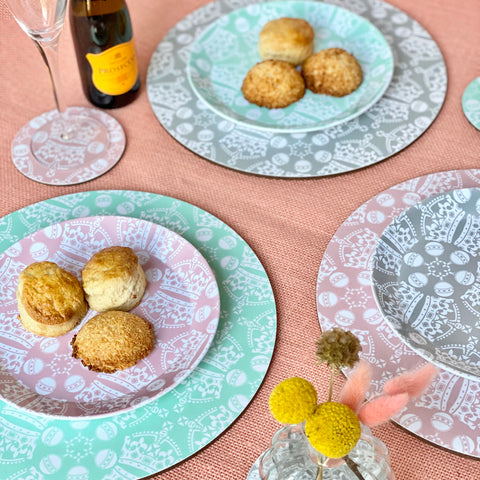 Jubilee crown orb placemat coaster