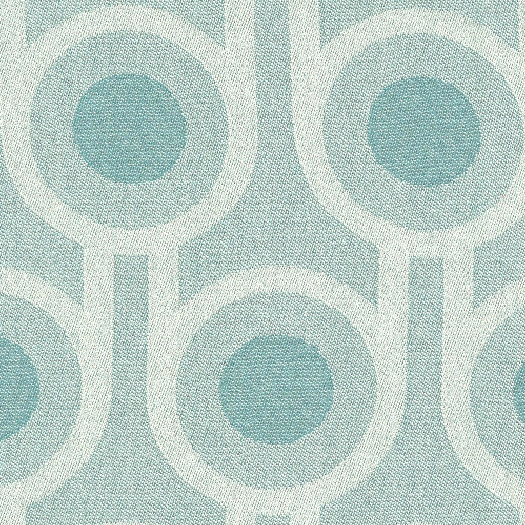 Benedict Blue Large Repeat woven wool fabric