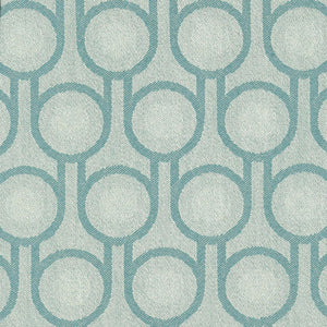 Woven Wool Fabric | Benedict Blue Small Repeat Pattern
