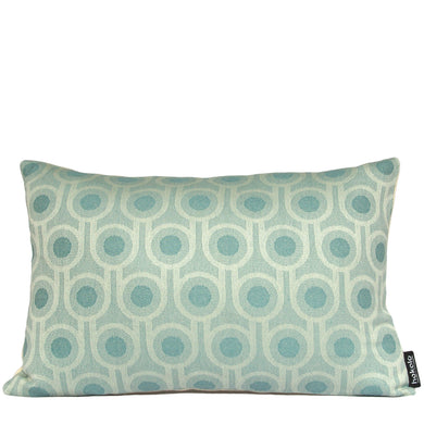 Benedict Blue Small Repeat rectangular cushion 45x30cm