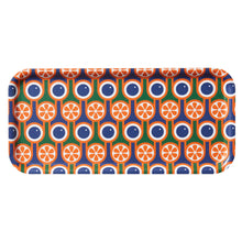 Birch Plywood Serving Tray in Blueberries Oranges Print