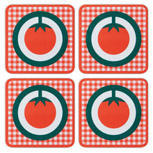 Melamine Coaster Set of 4