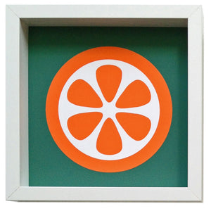 hokolo giclee art print orange slice