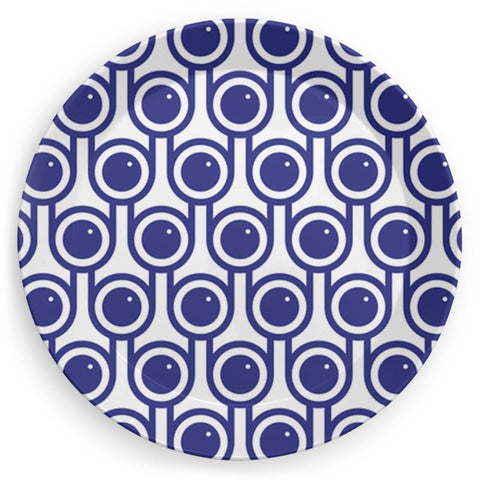 Plate in Blueberries Print