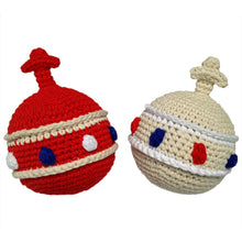 hokolo Cotton Crochet Royal Sovereign Orb Baby Rattle