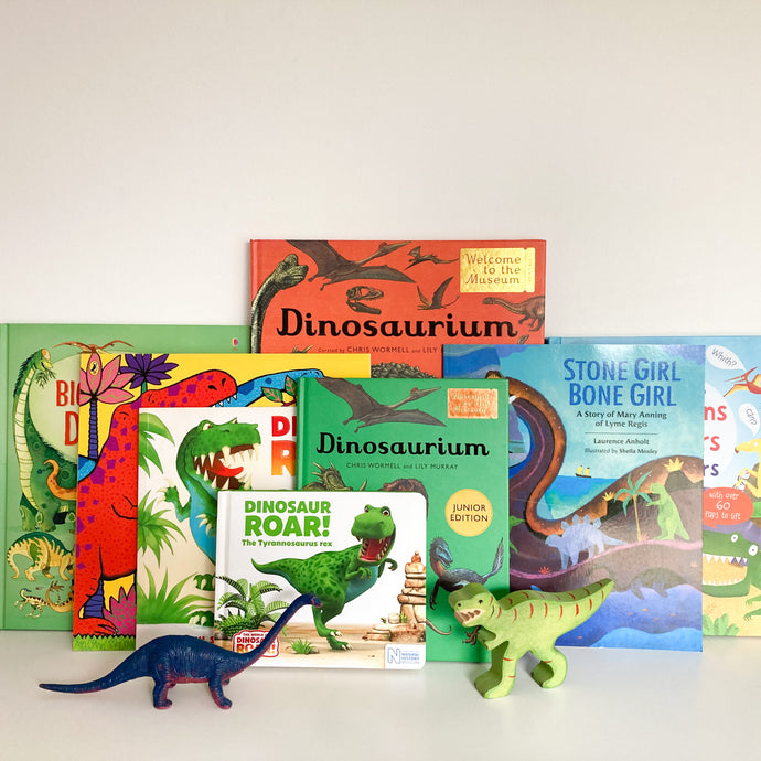 BOOKS WE'RE READING: Dinosaurs!