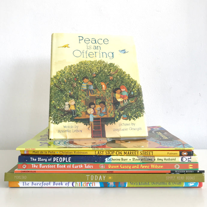 BOOKS WE'RE READING: Diversity, Inclusion + World Peace