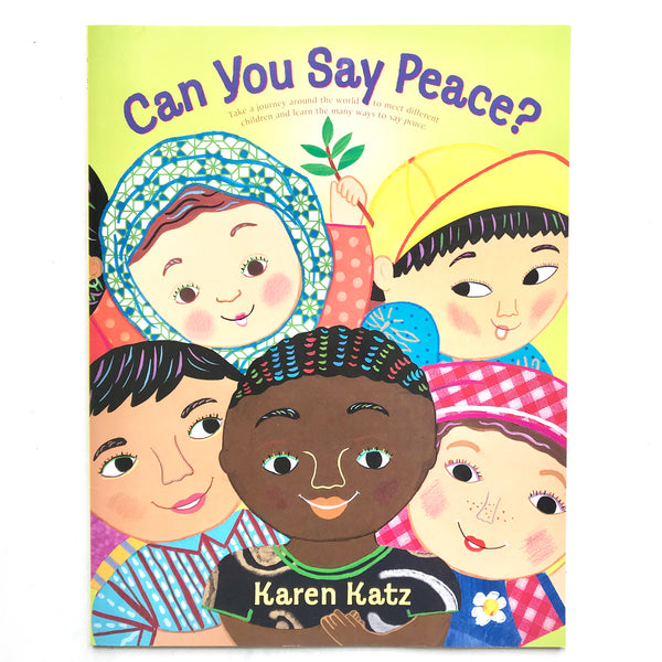 Can you say Peace Book