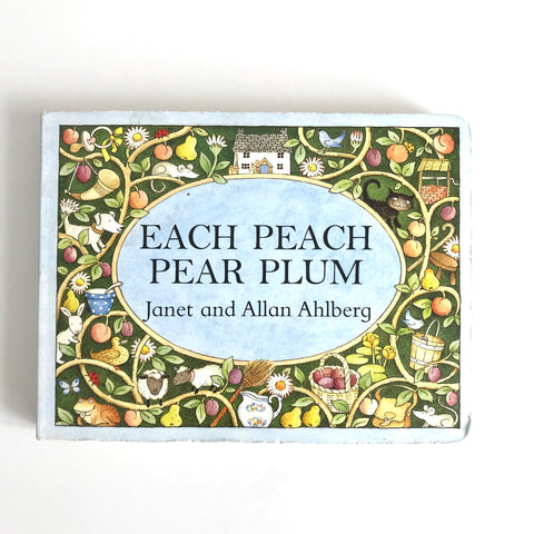 Each Peach Pear Plum Book Kids Book