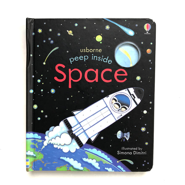 usborne book space peep through