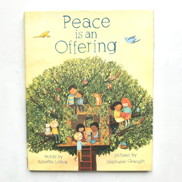 Peace is an Offering Book