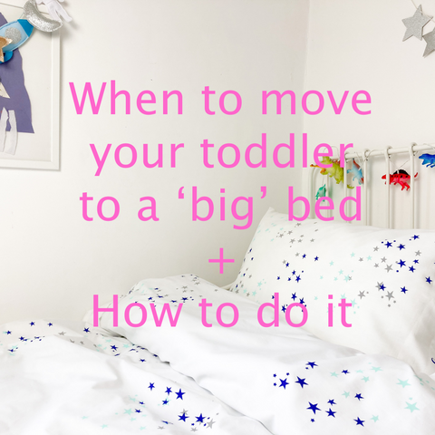 moving toddler to a big bed