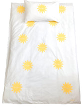 BONJOUR SUNSHINE Yellow | Kids Sun Design Duvet Set | Single Size