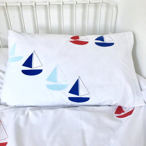 Seconds BON VOYAGE (blue) Duvet Set