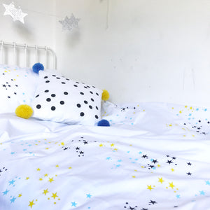 Seconds TWINKLE STAR (blue) Duvet Set