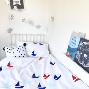 Seconds BON VOYAGE Teal | Single Duvet Set | Kids Bedding