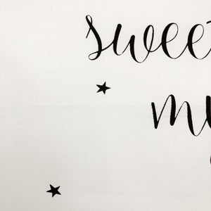 SECONDS 'SWEET DREAMS MY LOVE' | Kids Pillowcase | Kids Bedding