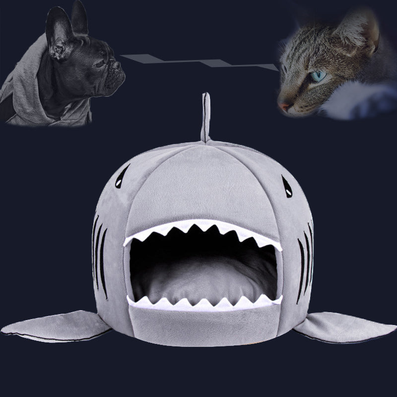 Shark Dog Bed Pet Cat Bed Shark Cats Beds House For Large Medium Small Dogs Pet Beds Puppy Kennel Pet Shop Chihuahua Pets House