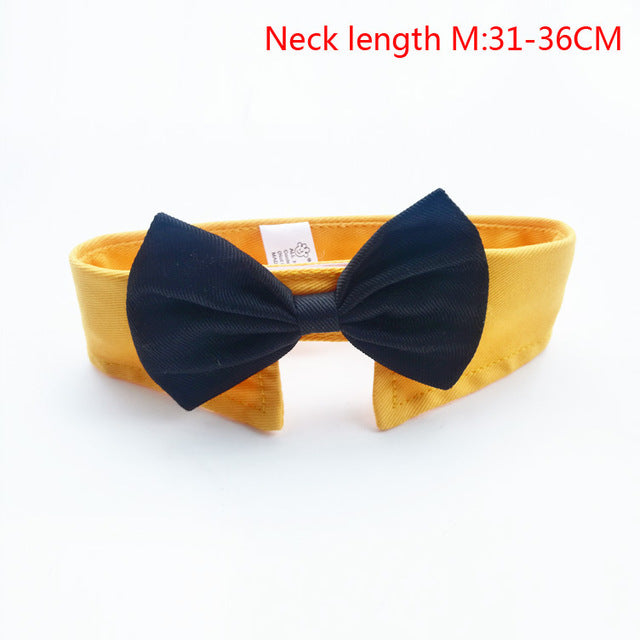 New Arrival Handsome Formal Dog Cat Bow Tie Groom Tuxedo Costumes Pet Dogs Tie Wedding Accessories Grooming Black Bowtie