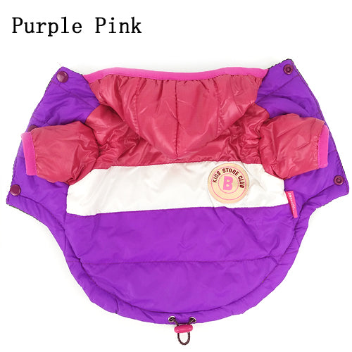 Best Sale Winter Pet Dog Clothes Warm Down Jacket Waterproof Coat S-XXL Hoodies for Chihuahua Small Medium Dogs Puppy PETASIA