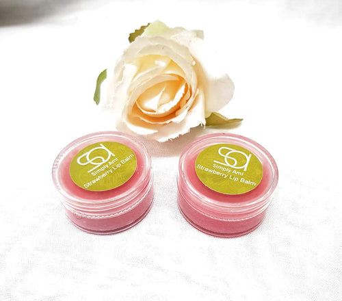 Simply Ami Strawberry Lip Balm