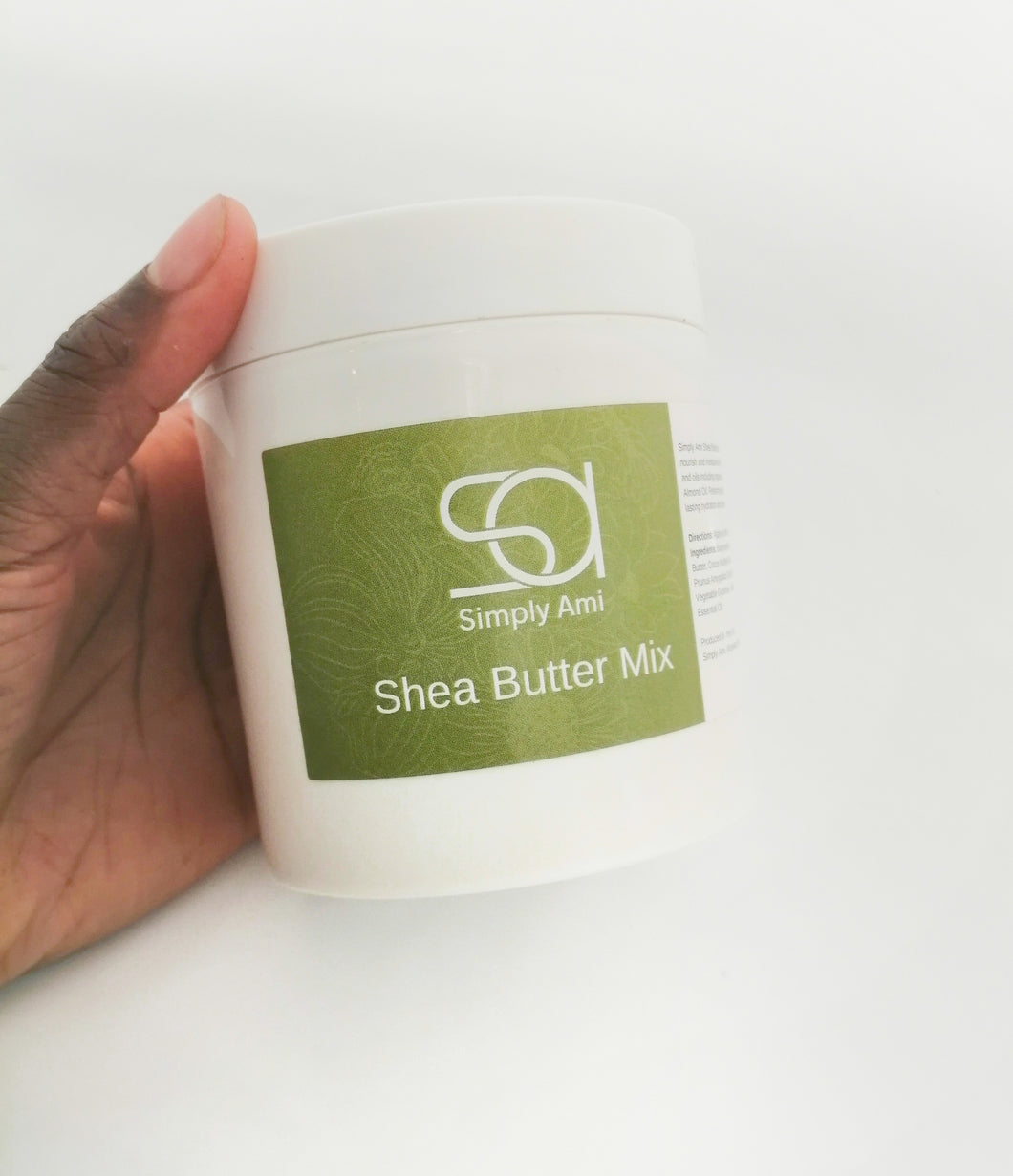 Simply Ami Shea Butter Mix, Family Size