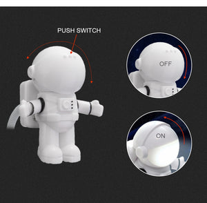 Astronaut USB LED Night Light