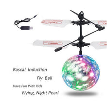 Flying Ball - LED Mini Helicopter Drone