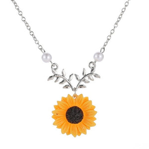 Sunflower Pendant Necklace - Limited Time Offer