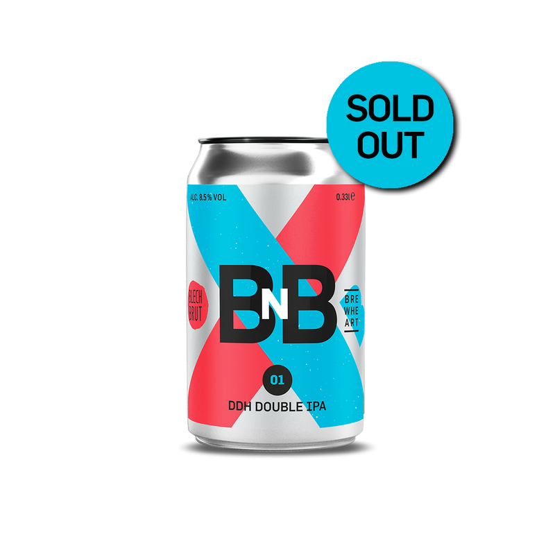 LIMITED COLLAB | B'n'B - DDH Double IPA - w/ Blech.Brut