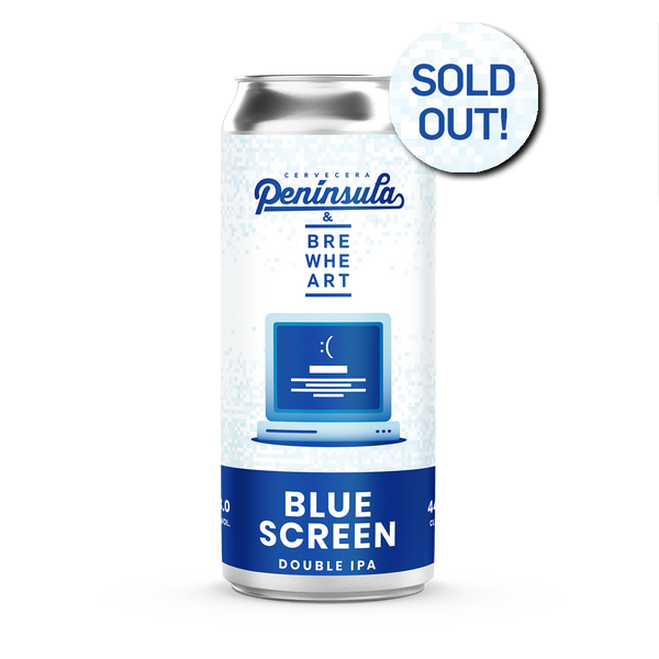 LIMITED Collab mit Peninsula | Blue Screen  - DDH Double IPA