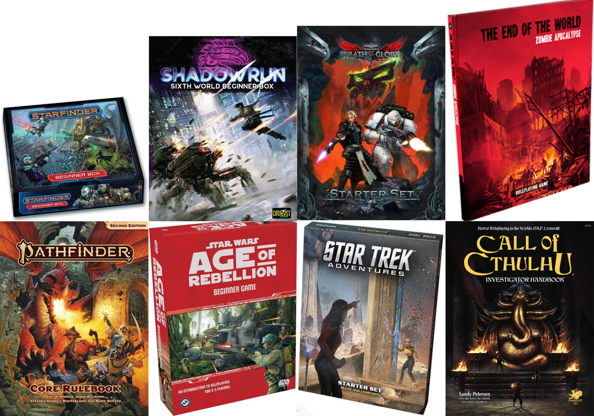 Other Roleplaying Game Alternatives to Dungeons and Dragons
