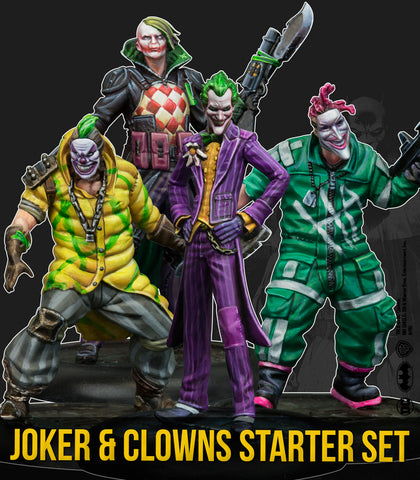 Batman Miniature Game: Joker And Clowns Starter Set